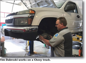 Tim and Chevy | Auto Safety Center